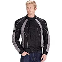 Viking Cycle Thor Motorcycle Jacket for Men (Small)