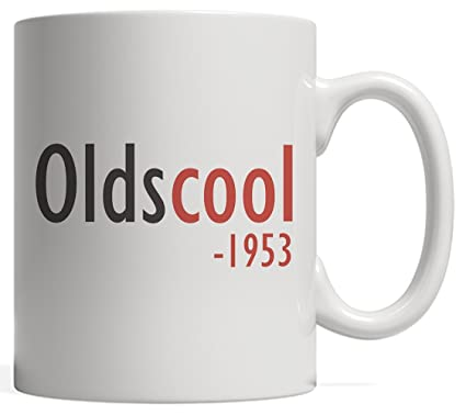 Oldscool 1953 Cool Anniversary Mug