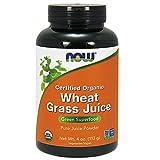 NOW Organic Wheat Grass Juice Powder,4-Ounce