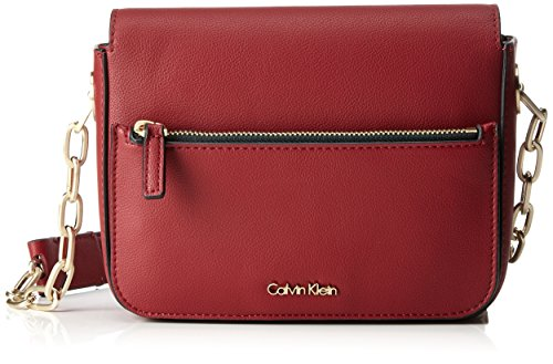 Women's Cross Calvin Shoulder Klein Bag Night Red Bag Dahlia Small Out Body Red Tr0Tpqn1