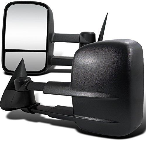 Spec-D Tuning RMX-SIV07H-P-FS Chevrolet Silverado Sierra Tow Trailer Power Heated Side Door Mirrors - Sierra Trailer
