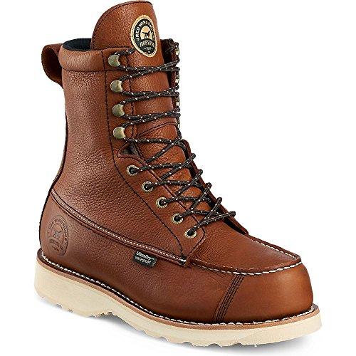 Review Irish Setter Men's 894 Wingshooter Waterproof 9″ Upland Hunting Boot,Amber,7.5 EE US