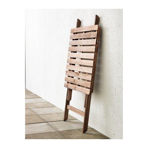 IKEA ASKHOLMEN - Table, grey-brown - 60x62 cm