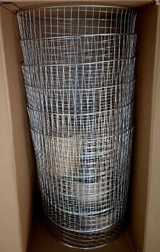 (Gophers Limited Stainless Steel Wire Gopher/Mole Barrier Basket, 15 Gallon Size, 1 Case Quantity 6 Baskets)