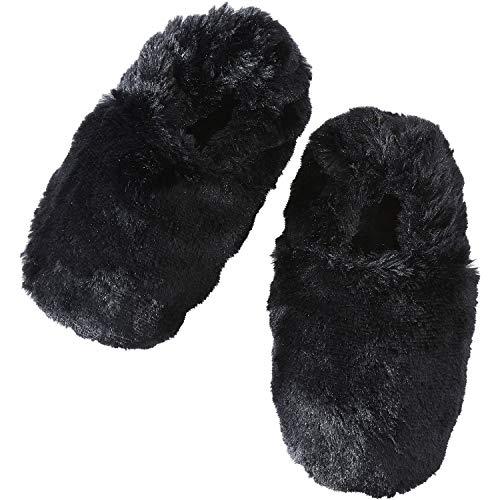 Mother Of Pearl Slippers - Bucky Hot & Cold Therapeutic Travel Slippers, Ebony