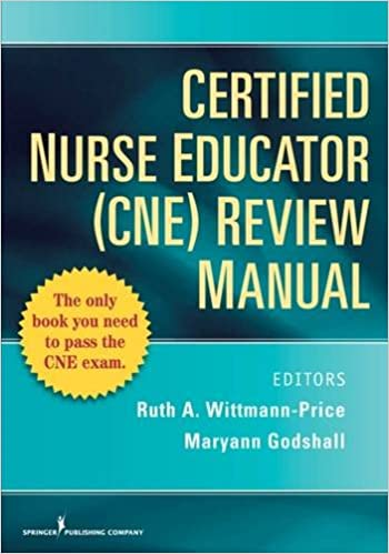 Certified nurse educator cne review manual 9780826105059 certified nurse educator cne review manual 1st edition fandeluxe Image collections