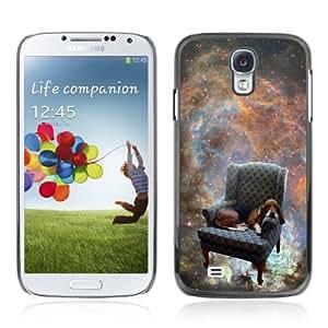 YOYOSHOP [Funny Space Dog ] Samsung Galaxy S4 Case