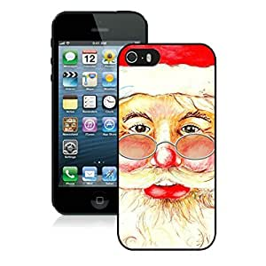 Provide Personalized Customized Iphone 5S Protective Cover Case Santa Claus Christmas iPhone 5 5S TPU Case 2 Black by icecream design