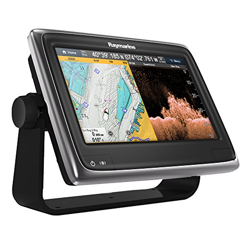 "Raymarine a98 Multifunction Display with Downvision, Wi-Fi & Lighthouse Navigation Charts, 9"" Fish Finders And Other Electronics Raymarine"