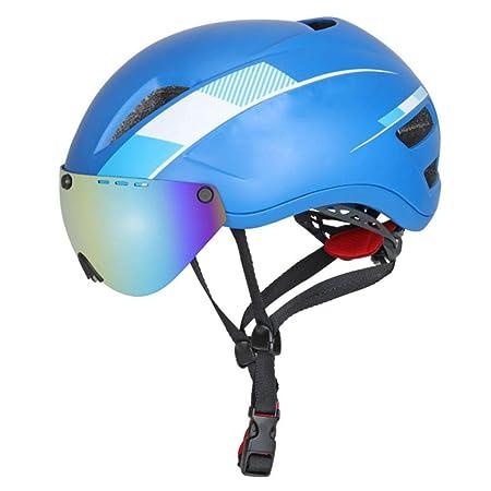 WERT Gafas para Hombre Casco para Bicicleta Bicicleta de ...