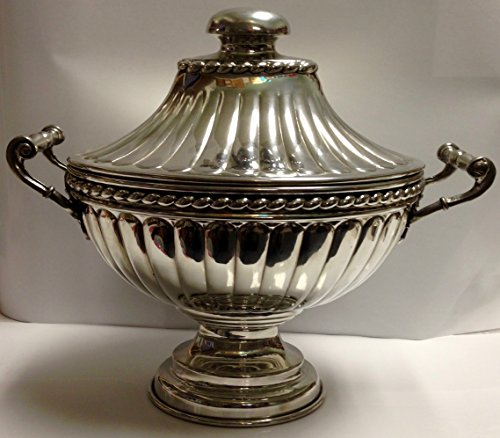Old Newbury Crafters Pewter Soup Tureen (Pewter Tureen Soup)