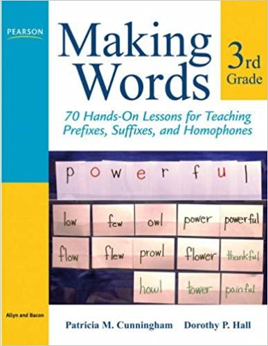Making Words Third Grade: 70 Hands-On Lessons for Teaching ...