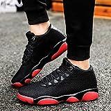 Running Basketball Shoe,Men Net Surface Flat