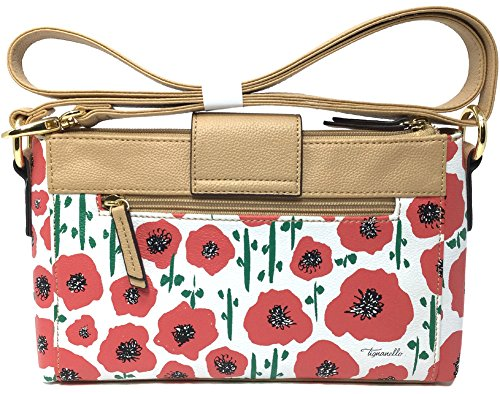 W Poppy Function Body Social Tignanello Strawberry T75458 Cross RFID Status 4pW4FnTcq