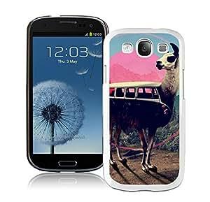 Lmf DIY phone caseBINGO Cool llama Samsung Galaxy S3 i9300 Case White CoverLmf DIY phone case