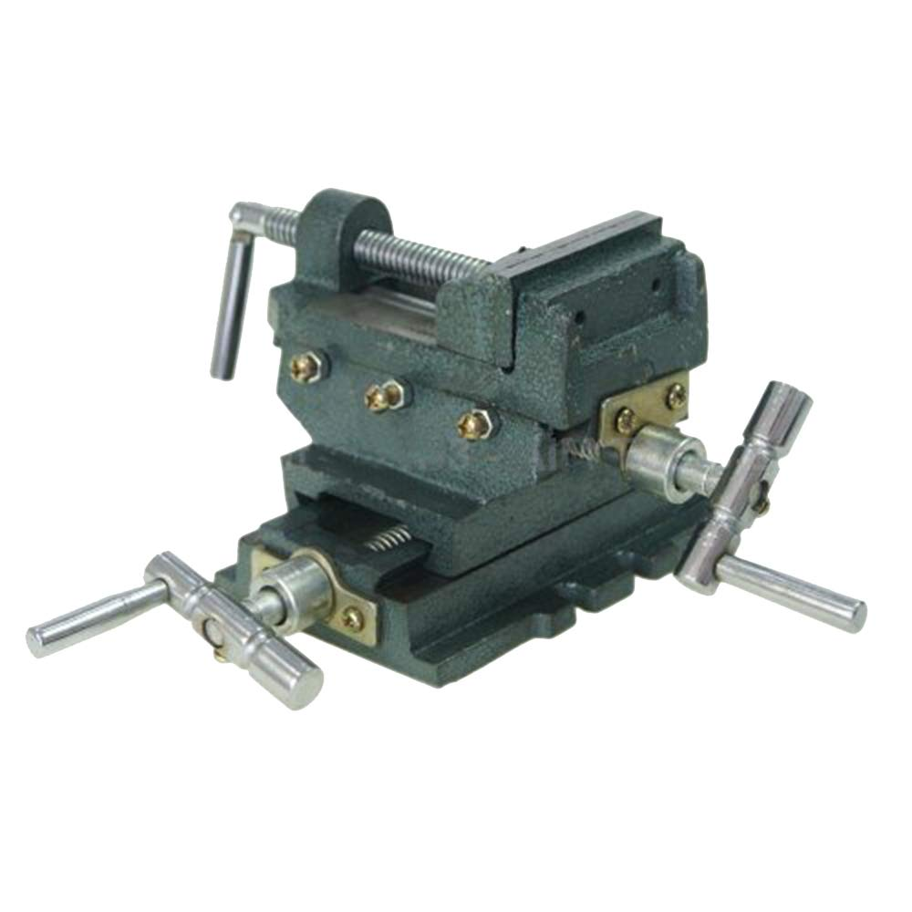 40228103 Heavy Duty Pillar Press Drill Milling 4 ways Mechanic Cross Vice 3' KATSU Tools