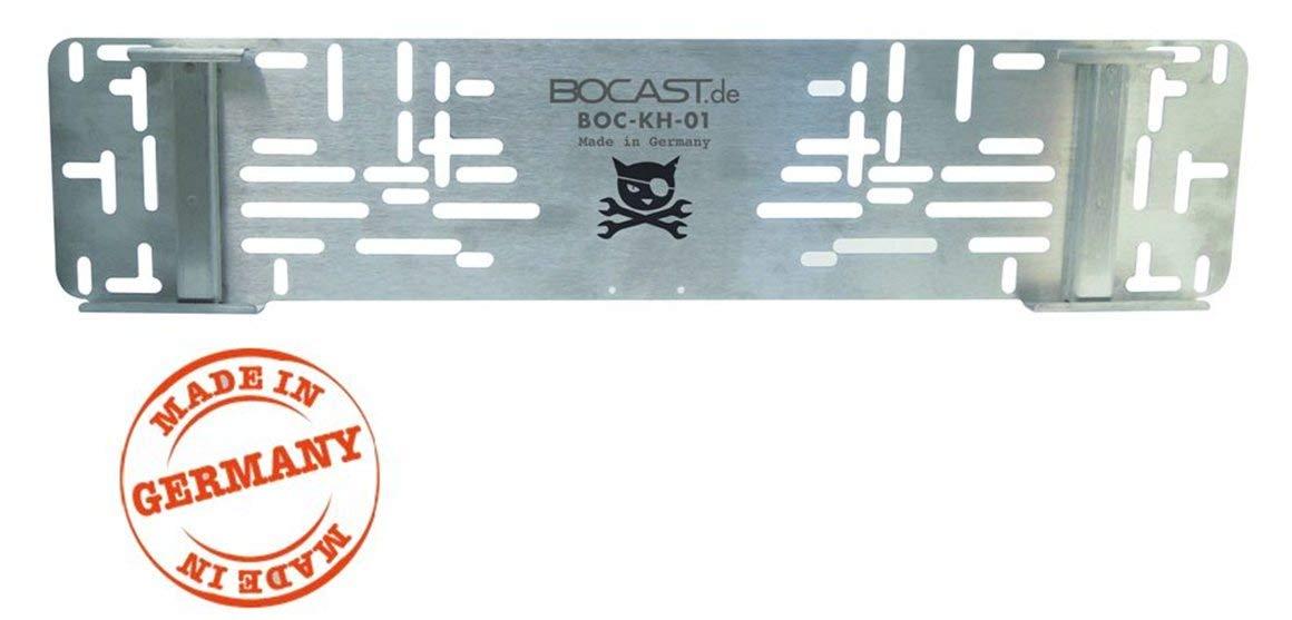 BOCAST Edelstahl Kennzeichen Schnellwechselhalter PKW 520mm f/ür /Österreich UND Deutschland passend