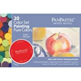 Armadillo Art and Craft Panpastel Ultra Soft Artist Pastel Painting Set, 20-Pack