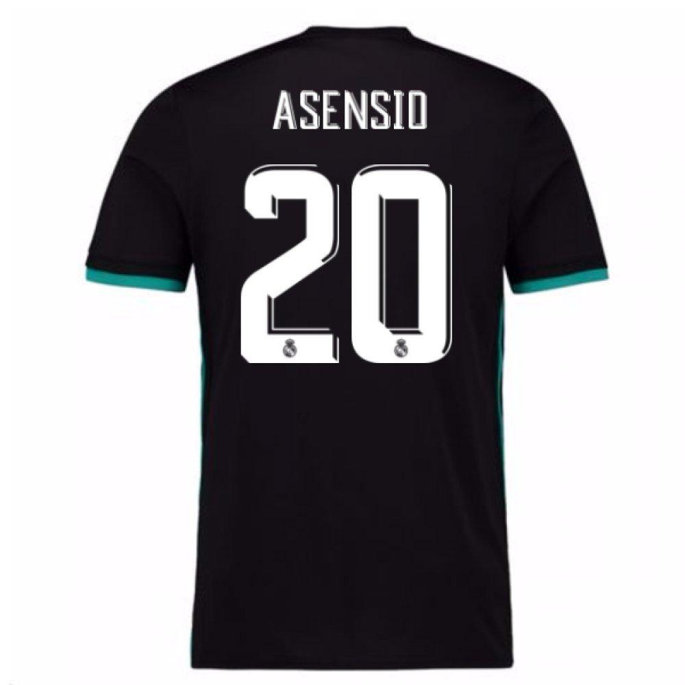 古典 2017-18 Real (Asensio Madrid Away 2017-18 Shirt (Asensio 20) Shirt B07DD7XR7K Medium 38-40