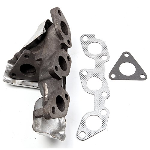 (SCITOO Auto Replacement Exhaust Manifold Kits, Right Exhaust Manifold Set Stainless Steel fit Ford F-150 Expedition 4.6L 1999-2002)