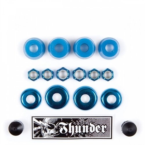 (Thunder Rebuild Kit Bushings Hardware Pack Blue 95d)