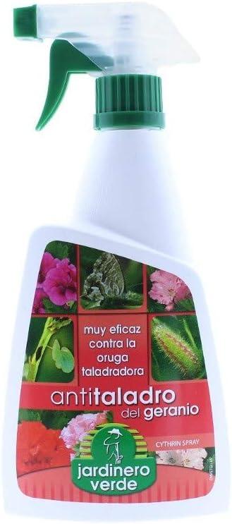 DISTRIBUCIONES ALJUR, S.L. INSECTICIDA Jardinero Verde 500 ml Varios - Geranio