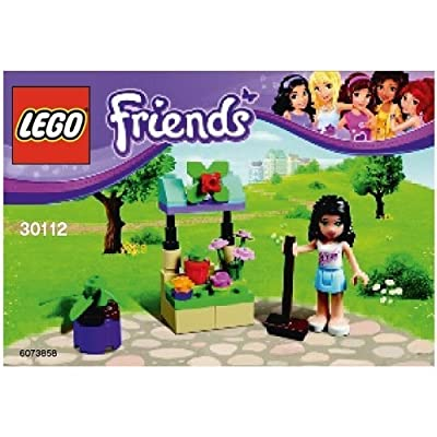 LEGO Friends: Emma's Flower Stand Set 30112 (Bagged): Toys & Games