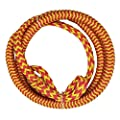 Jranter Elastic Wakeboard Water Ski Towing Rope for Motorboat Watersports Rope with Loops