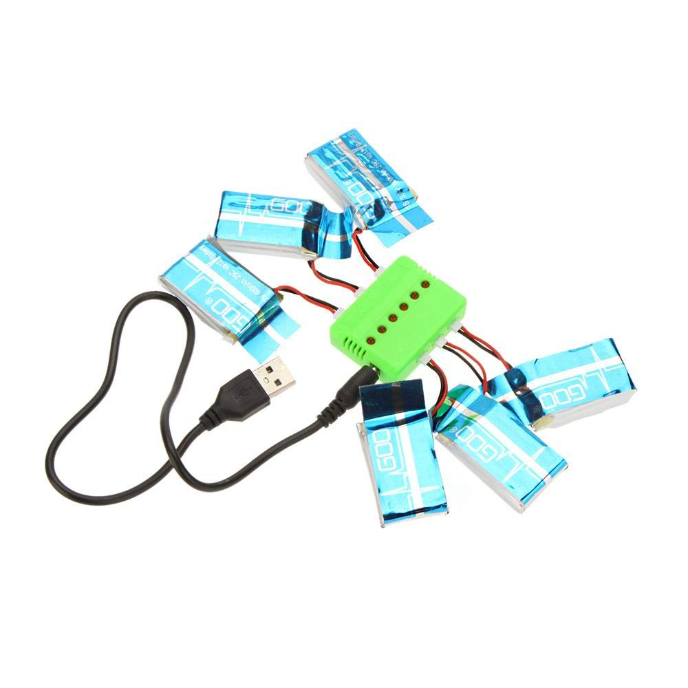 3 7v lipo box wiring diagram  amazon exiron super fly sets x6 charger with 6pcs 3 7v 600mah remote control helicopter parts 3 7v lipo