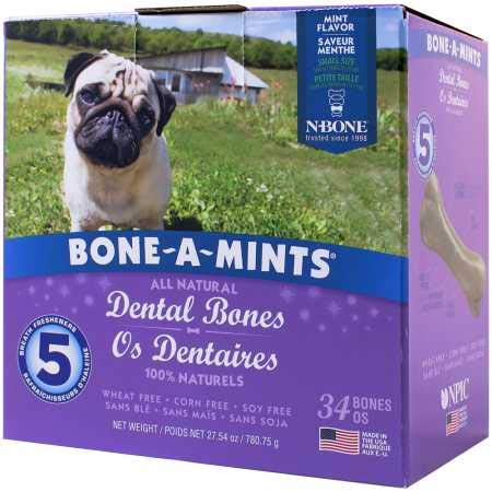 Npic Boneamints Dental Bones Small 34 Pack