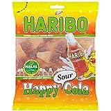 HARIBO Halal Sour Cola Bottles, Halal Sweets, 100g