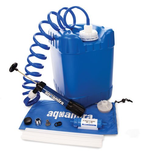 5-Gallon Emergency Water Storage Container with Aquamira Filtration Kit