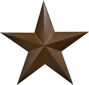 RUSTIC METAL TIN BARN STAR 18 - Rustic metal stars, texas star for western wall decor, metal wall decor, rustic wall decor, country outdoor christmas metal star wall decor, perfect home decor gift