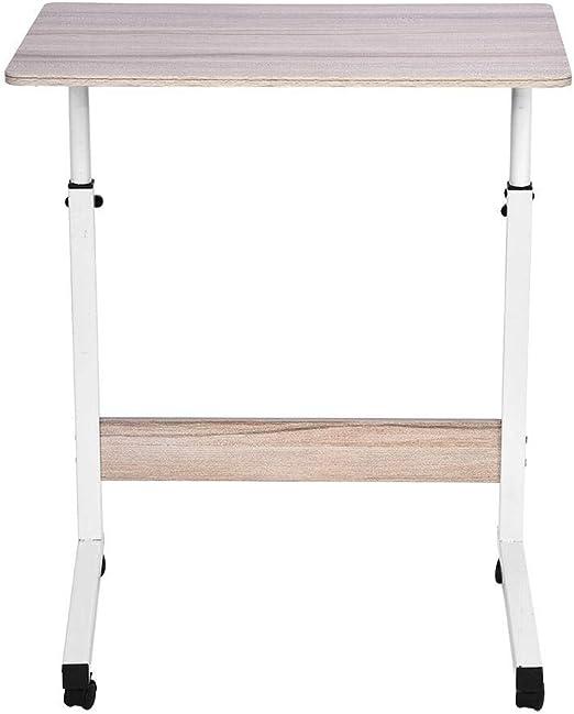 Mesa para portátil de 60 * 40 cm de Altura Ajustable, Escritorio ...