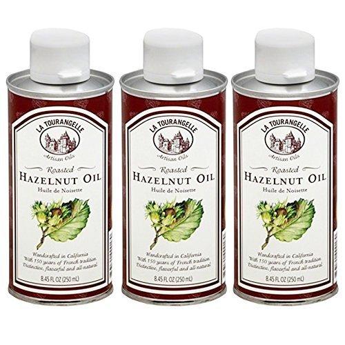 La Tourangelle Artisan Roasted Hazelnut Oil (Pack of 3) by La Tourangelle by La Tourangelle