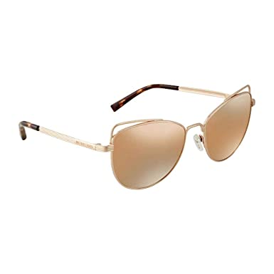 ff533c6be6fc Image Unavailable. Image not available for. Color: Michael Kors St. Lucia  MK1035 Sunglasses-Liquid Rose Gold ...