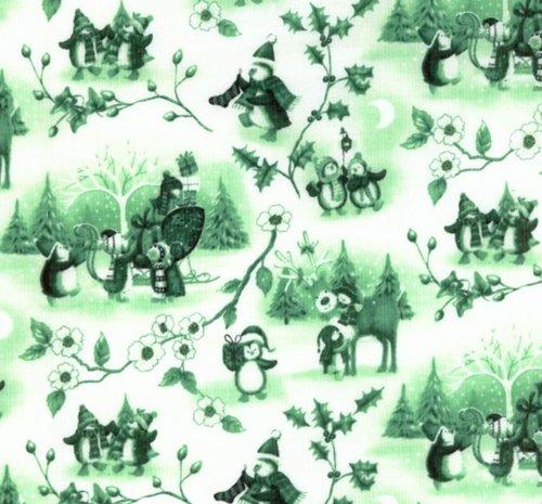 penguin quilt fabric - 7