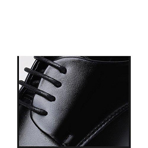 Uomo Da YXLONG Dimensioni Da Scarpe Pizzo Da Scarpe Di Uomo Scarpe Grandi Da Uomo In Scarpe Pelle black Traspiranti In Lavoro PPA1qw
