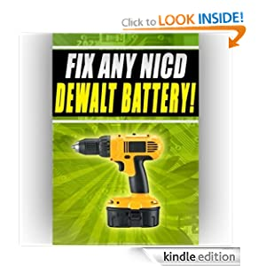 Fix Any NICD Dewalt Battery dw927k2 dcd930kx dw9057 14.4v 7.2v Danny Swenson