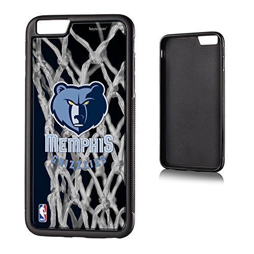 fan products of Memphis Grizzlies iPhone 6 Plus & iPhone 6s Bumper Case officially licensed by the NBA for the Apple iPhone 6 Plus by keyscaper® Flexible Full Coverage Low Profile