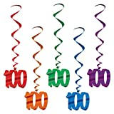 100 Whirls (asstd colors)    (5/Pkg)