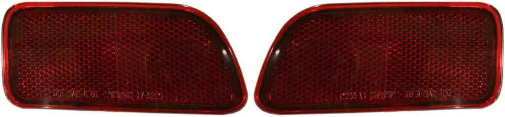 New Rear Left Driver Side Bumper Reflector For 2002-2009 Chevrolet Trailblazer GM1184104 15000427