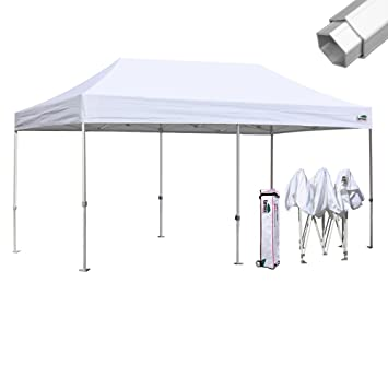 Eurmax Professional 10x20 Pop up Canopy Instant Outdoor Gazebo Aluminum Frame Commercial Grade Bonus Roller Bag  sc 1 st  Amazon.com & Amazon.com: Eurmax Professional 10x20 Pop up Canopy Instant ...