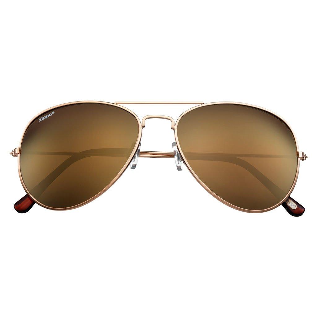 81b81919586 Amazon.com   Zippo Pilot Style Sunglasses   Sports   Outdoors