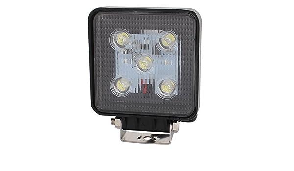 Amazon.com: eDealMax 15W DC 10V-30V 5 Bombilla LED proyector de la lámpara de Trabajo de Cocina Hall de iluminación: Industrial & Scientific