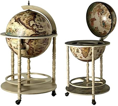 Ancient World Globe Drinks Cabinet - Ancient World Globe Drinks Cabinet: Amazon.co.uk: Kitchen & Home