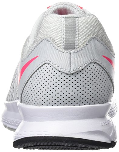 Nike Air Relentless 6 - Zapatillas de Entrenamiento Mujer Gris (Pure Platinum / Racer Pink / Black / White)