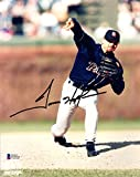 TREVOR HOFFMAN SIGNED AUTOGRAPHED 8x10 PHOTO SAN DIEGO PADRES LEGEND BECKETT BAS