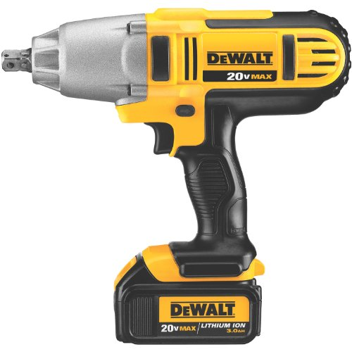 DEWALT DCF889L2 20V Max Lithium Ion 1/2-Inch High Torque Impact Wrench with Detent Pin, 3.0-Ah For Sale