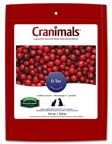 Amazon.com: cranimals D-Tox Suplemento para perros, 4.2 oz ...